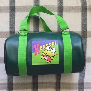 Sanrio Keroppi Vintage 90s Mini Duffle Bag